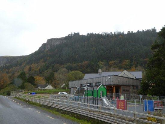 Glencar Waterfall: tea rooms nearby