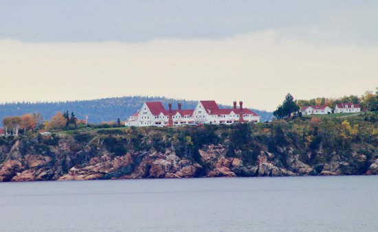 Keltic Lodge Resort & Spa: View from across the bay