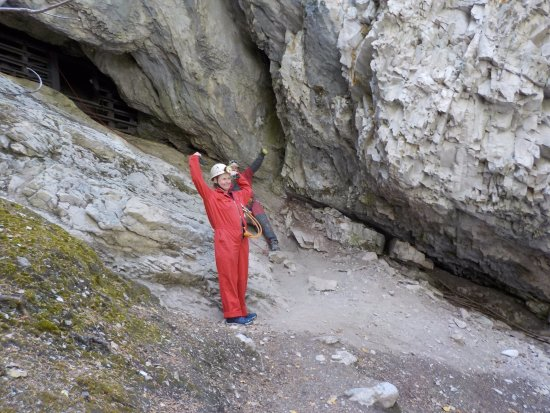 Canmore Cave Tours: Success and a feeling of accomplishment!!