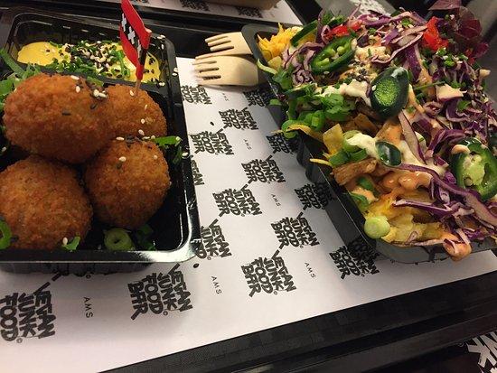 Picture of vegan junk food bar amsterdam for Bar food vegetarian