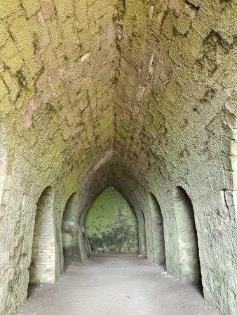 Holy Island, UK: Inside the Lime Kilns