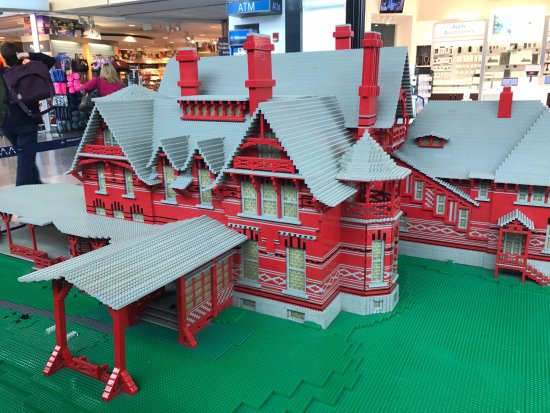Lego Model at Bradley International Airport - Picture of The Mark ...
