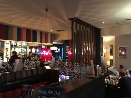 Waters Edge - Hungry Horse: Outside and inside of the pub