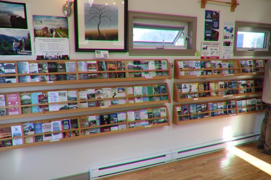 Inverness, Kanada: Lots of pamphlets!