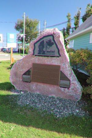 Inverness, Kanada: A monument