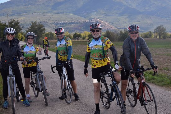 Salida, CO: Our Italian bike tours include cyclists of all abilities.  Enjoy the ride!
