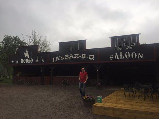 Strömsnäsbruk, Sverige: Originele Saloon