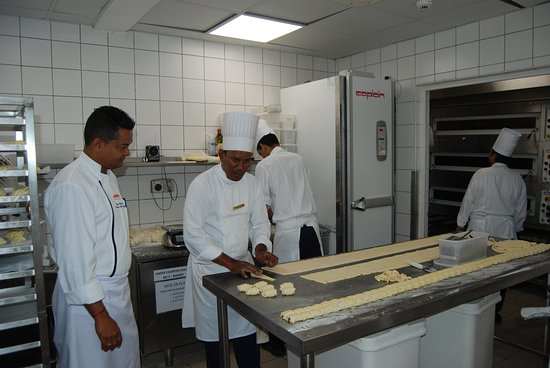 Ambre Mauritius: patissiers, excellentes viennoiseries