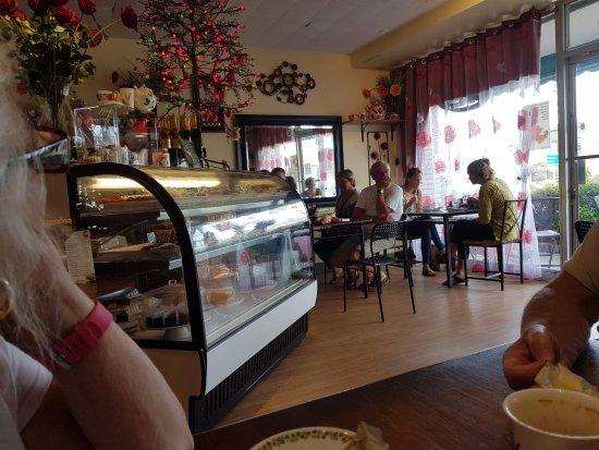 Around the World Cafe: Inside