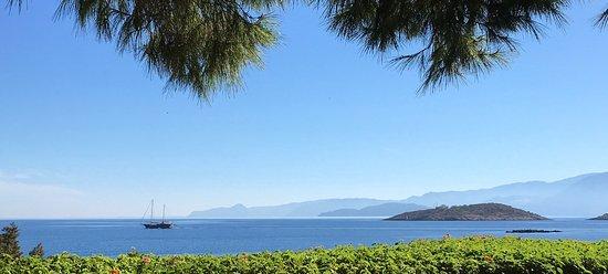 St. Nicolas Bay Resort Hotel & Villas: View from breakfast table