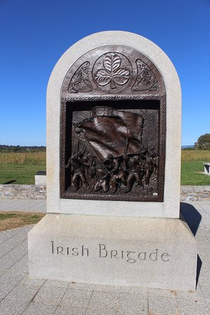Sharpsburg, MD: The Irish Brigade Bas Relief.