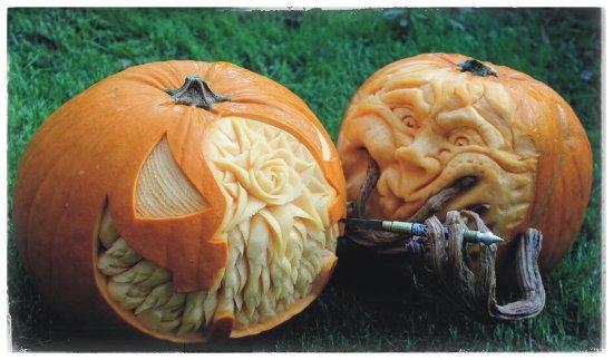 ... Zucche 🎃 di halloween divertenti e spaventose. Viel - Corso Buenos  Aires  Notte di Halloween 🎃 divertitevi 35aebd1e1414