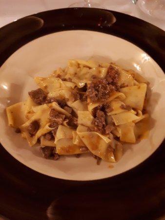 Altopascio, إيطاليا: maccheroni di pasta fresca fatta in casa