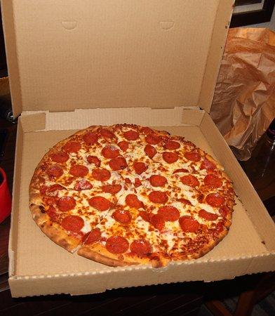 Yavapai Lodge Restaurant : Pizza .. so heisst das Ding bei uns