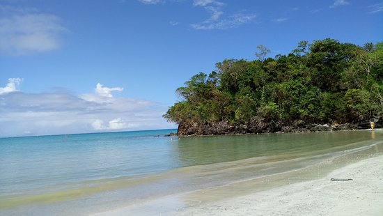 Playa Bonita: parte alejada