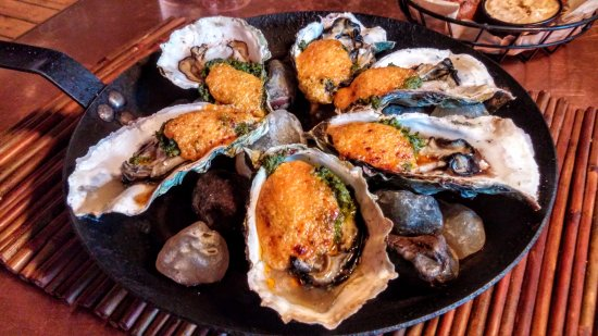 Netarts, OR: Oysters Rockoyaki