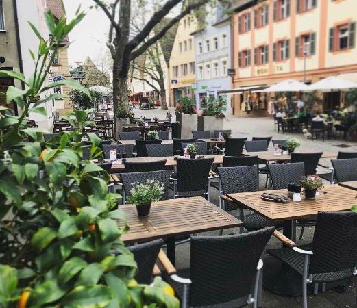 Schwabach, Germany: Terrasse Restaurant Fabiano