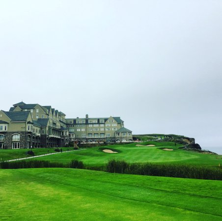 The Ritz-Carlton, Half Moon Bay: The Facade of the hotel, not pictured ... the vastness of the ocean