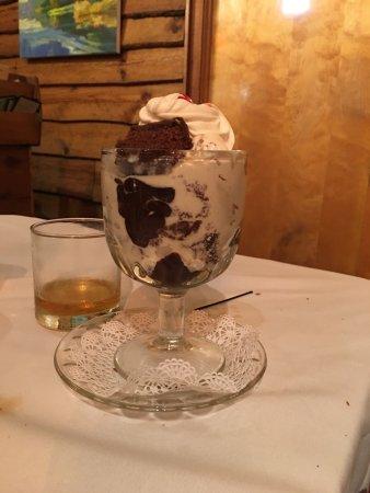 Rhinelander, WI: Hubby's dessert