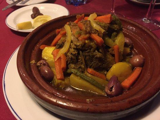 El Minzah Hotel: Lamb Tangine