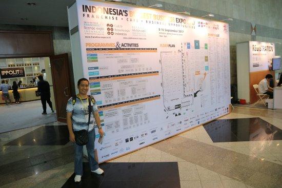 Balai Sidang Jakarta Convention Center: Foto saya di JCC pada 9 September 2017 :)