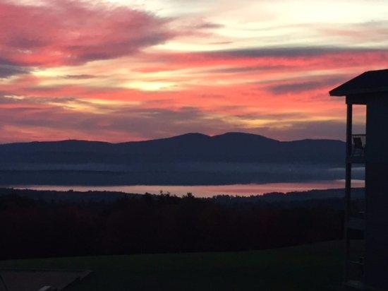 ซานบอร์นตัน, นิวแฮมป์เชียร์: Sunrise on second day!! Beautiful!!