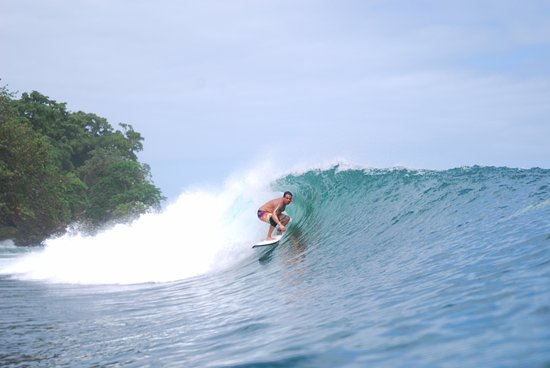 Carenero Island, Panama: World class waves awaits you