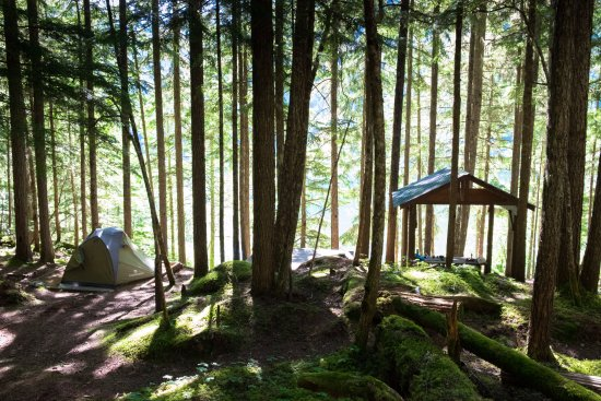 Lumby, Canada : Spektrum Lake campground