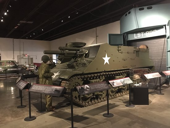 Patton Museum of Cavalry and Armor: An exhibit inside the museum.
