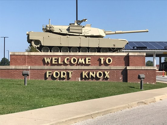 Patton Museum of Cavalry and Armor: Visitor's Gate