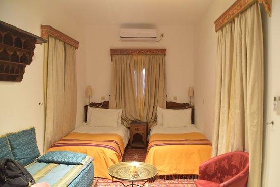 Hotel Riad Casa Hassan Restaurante: Our room