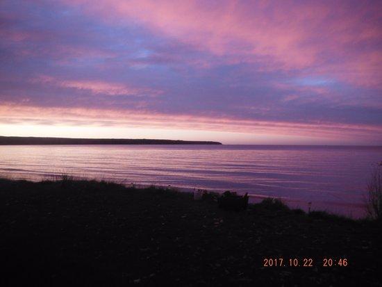 Big Bay, Michigan sunset.