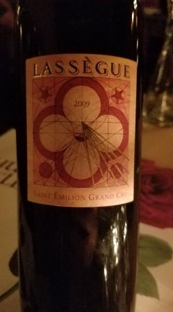 Hugo's Cellar: French Red Chateau Lassegue 5 * wine