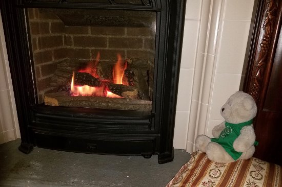 Westbrook Inn Bed and Breakfast: Fireplace Worked well for Heating