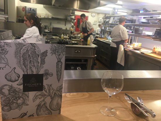 Tasting Menu At The Kitchen Bench Picture Of Fischer 39 S At Baslow Hall Baslow Tripadvisor