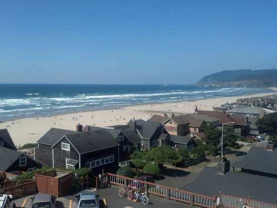 Hallmark Resort & Spa Cannon Beach: View from our room