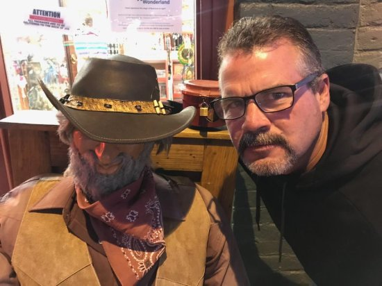 Williams, AZ: Me and Dusty in 2017