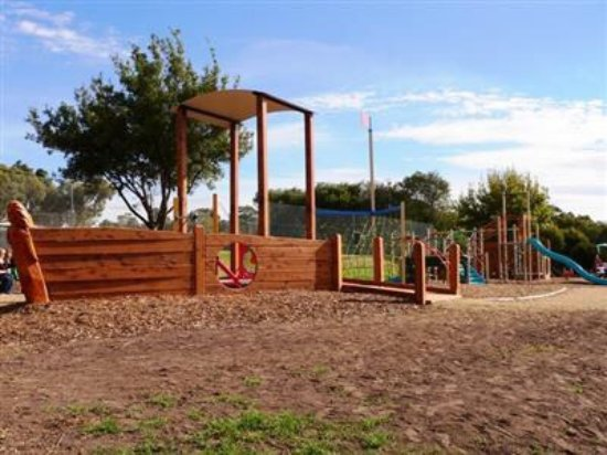 Colac, Australien: Nautical themed playground