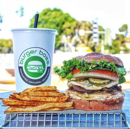 Burger Boss: Turkey combo