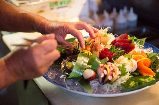 Banzai Sushi Bar: Sashimi Platter