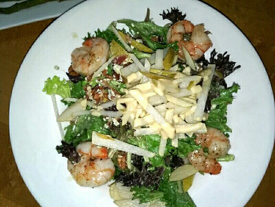 Four Dogs Tavern- Pear Roquefort with Shrimp_large.jpg