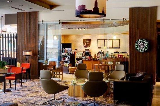 Crowne Plaza Hotel Kansas City Downtown: The Crowne Plaza Kansas City features a full service Starbucks