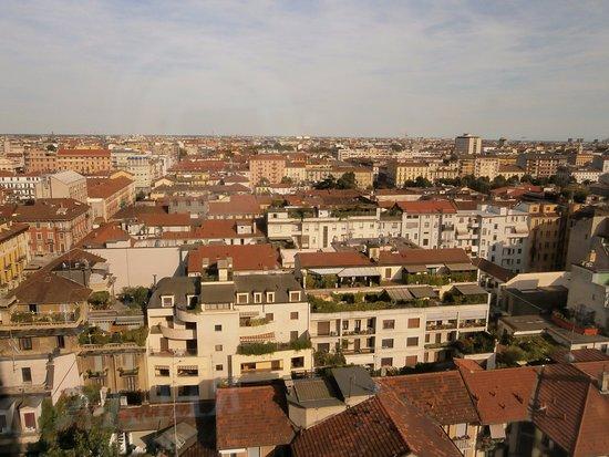 Michelangelo Hotel: 13階の部屋からの眺め