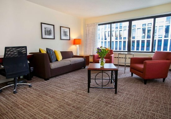 Studio Suite Picture Of Residence Inn Chicago Downtown Magnificent Mile Chicago Tripadvisor