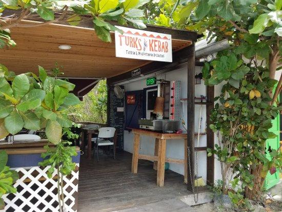 Turks Kebab: entrance