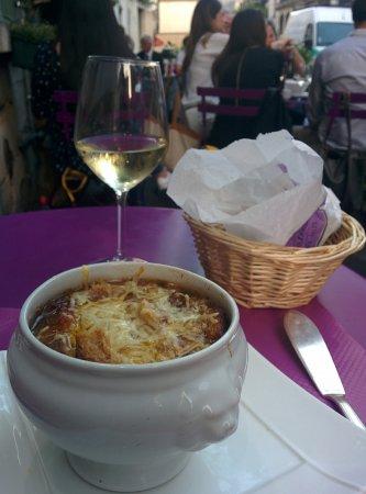 Au Vieux Paris d'Arcole : French onion soup