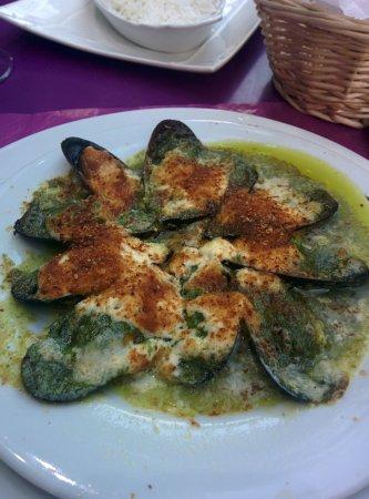 Au Vieux Paris d'Arcole : mussels