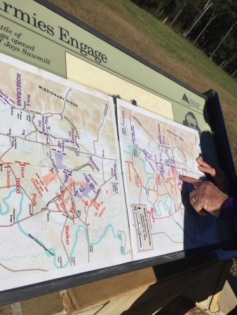 White Star Battlefield Tours: Hourly accounts of shifting battle plan.