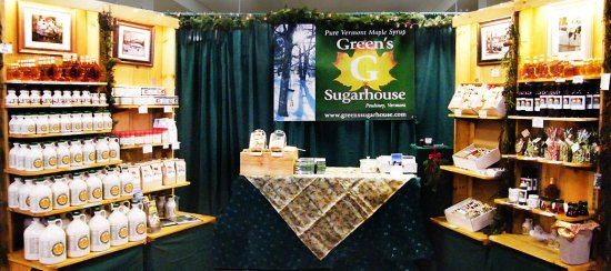 Poultney, VT: Our craft show set up. Check the website to see where it will be next.