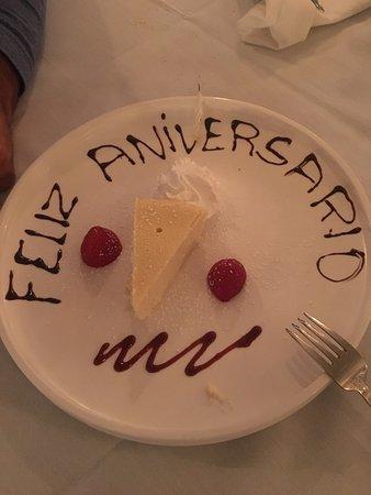 Island Park, NY: Cheesecake in Gran Paradiso :)